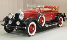 1929 Auburn 8 90: Drivers Side Front View