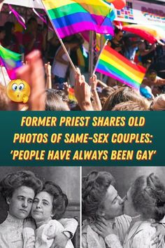 Former Priest Shares Old Photos Of Same-Sex Couples: 'People Have Always Been Gay' While we now have the privilege of being able to proudly preach that love is love without facing serious repercussion (in North America, at least), society hasn't always been so accepting. Couple Goals, Family Goals, Divorce And Kids, Eye Makeup Art, Couple Shirts, Acrylic Nail Designs, Cute Jewelry, Joggers Shoes, Sneakers