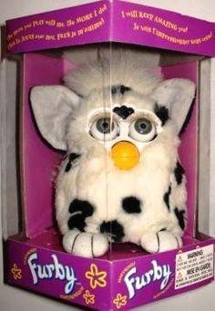 Furby Model 70 800 Dalmatian White with Black Spots Electronic Furbie. 90s Childhood, Childhood Memories, Furby Boom, Pink Lemon, Band Shirts, Black Spot, I Am Scared, Dalmatian, Doll Toys