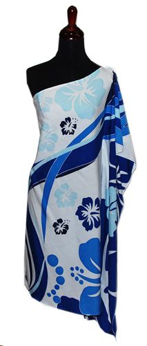 Hawaiian Plus Size Poolside One shoulder Short Dress, Jade Fashion - Aloha Wear Clothing Store
