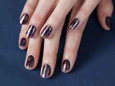 Galaxy Nails | Everywhere - DailyCandy