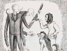 Slenderman, Splendorman, Smile Dog & Jeff The Killer~