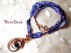 """silk & jade"" necklace"