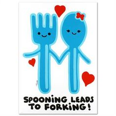 "Todd! ""Spooning Leads to Forking"" Ltd Ed Lithograph (25"" x 35""), Numbered and Hand Signed with Certificate! List $850 