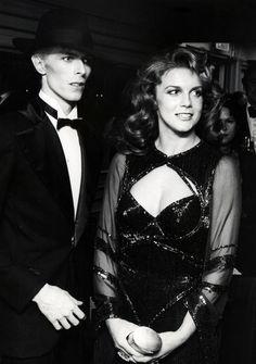 1975 - David Bowie and Ann-Margret