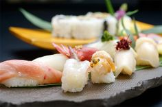 Assorted Sushi by tack061, via Flickr
