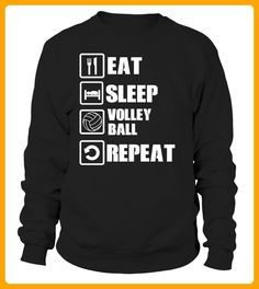 EAT SLEEP VOLLEYBALL REPEAT - Volleyball shirts (*Partner-Link)