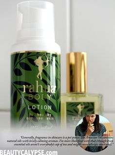 """I love cosmetics that are made of 100% active ingredients synergetic in the formula: there is no black box """"fragrance"""" added, just the aromas of the natural oils and essences."""