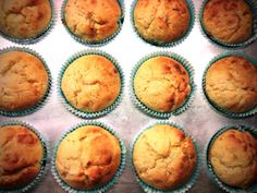Fructose Low / Free Coco-Buttermilk Muffins //by Fructopia