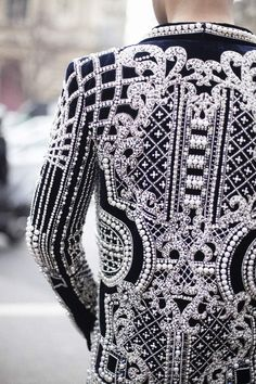 Balmain. Street couture. Right.