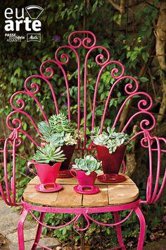 Inove a decoração do seu jardim com os suportes para filtro Melitta ;)