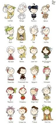 Cute people doodle