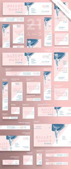 Ballet Dance Studio Banner Pack - Banners & Ads Web Elements Download here : https://graphicriver.net/item/ballet-dance-studio-banner-pack/21696180?s_rank=90&ref=Al-fatih
