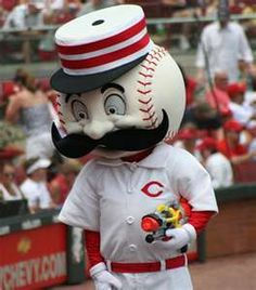 Cincinnati Reds - Mr. Red