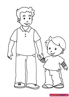 Etkinlik Havuzu - Etkinlik Detay Fathers Day Coloring Page, Family Coloring Pages, Coloring Pages For Girls, Coloring Books, Infant Activities, Preschool Activities, My Little Pony Birthday Party, Family Theme, Father's Day Diy