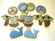 Pirate Baby Shower by Sweet Hope Cookies, via Flickr
