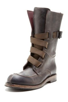 I.AM Men's Leather High Top Boot