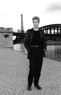 Jim Jarmusch in Paris in 1984.  Photo by Ilse Ruppert.