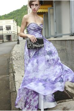 floral pink and purple bridesmaid dresses | prom dresses 2011: Choice of bridesmaid dress colors