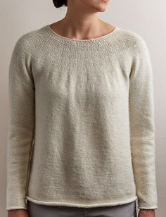 Purl Soho | Top-Down Circular Yoke Pullover Pattern | Download Only