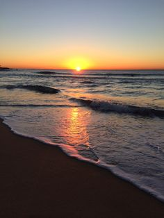 Sunrise at Maroubra beach - 16/5/14
