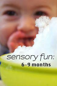 Dan & Jess: sensory fun: 6-9 months