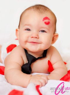 Valentine's Day.. I'll have to see if I can do this with my own photography skills and daddy's tie!
