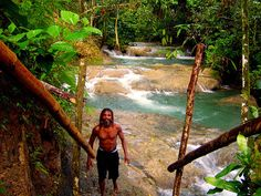 Mayfield Falls site in the low-lying Dolphin Head Mountains make a memorable day trip from Negril.