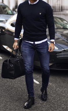 Why mens fashion casual matters? Because no one likes to look boring! But what are the best mens fashion casual tips out there that can help you […] Stylish Mens Outfits, Casual Outfits, Fashion Outfits, Fashion Ideas, Men's Casual Fashion, Style Fashion, High Fashion, Men's Fashion Tips, Fashion Styles