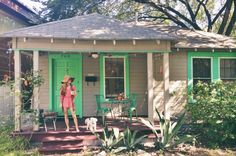 The new Vagabond Designer HQ in South Austin, Texas...this little lady is going back to her roots!   www.kimlewisdesigns.com