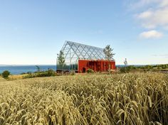Image 1 of 24 from gallery of Uppgrenna Nature House / Tailor Made arkitekter. Photograph by Ulf Celander