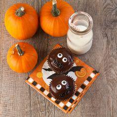 Spooky Chocolate Cupcakes (gluten-free)