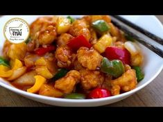 CERDO AGRIDULCE ESTILO CHINO - Recetas de Cocina faciles rapidas y economicas de hacer - YouTube