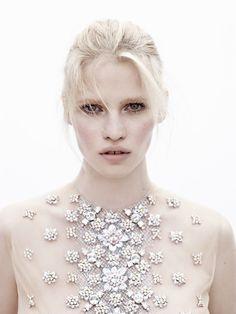 Lara Stone by Josh Olins for Vogue Nederland May 2012
