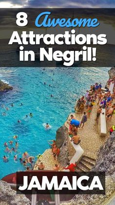 Top 8 Most Awesome Attractions in Negril, Jamaica Negril, Jamaica is known as the capital of casual. If you're looking for things to do in Negril, this post has what you're looking for. Check out the 8 most attractions in Negril. photo via: IG Sandals Negril Jamaica, Jamaica Honeymoon, Visit Jamaica, Montego Bay Jamaica, Jamaica Wedding, Jamaica Vacation, Jamaica Travel, Negril Jamaica Resorts, Jamaica Beach