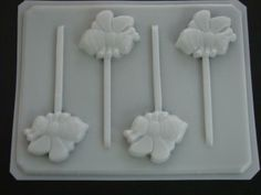 1302 Bee Lollipop Mold