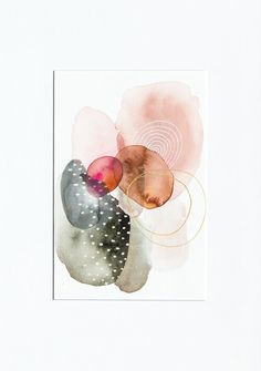 An original painting from the Grounded Freedom series by mixed media artist, Laura Horn. Created with watercolor and acrylic. Watercolor Paintings Abstract, Original Paintings, Watercolor Artists, Abstract Oil, Painting Art, Painting Inspiration, Art Inspo, Guache, Art Techniques