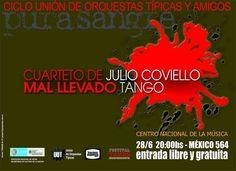 Cuarteto de Julio Coviello / Mal Llevado Tango en Buenos Aires