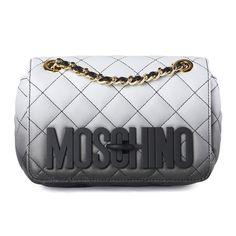Moschino Black Quilted Shoulder Bag / Shop Super Street - 1