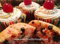 Cherry Chocolate Chip Cupcakes 2.0