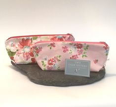 Mother's Day Makeup Bag Gift Price is for a Pair of Co Ordinating Floral and Spot Fabric Make Up Bag Cosmetic Purse Phone Accessories Bag Cosmetic Storage, Cosmetic Bag, Makeup Storage, Valentines Outfits, Unique Bags, Gorgeous Fabrics, Stocking Fillers, Market Bag, Phone Accessories
