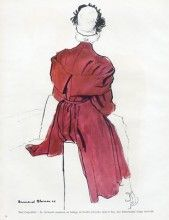 Mad Carpentier (Couture) 1945 Bernard Blossac, Coat Fabric Rodier