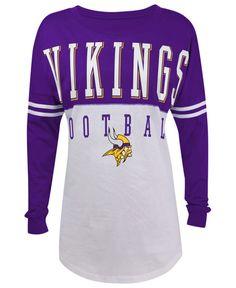 5th  amp  Ocean Women s Minnesota Vikings Sweeper T-Shirt Viking Shirt 7524ff59b