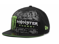 Monster Tinsel Town New Era Fitted Cap Hats