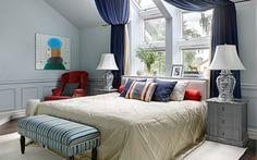 спальня: фото дизайна интерьера - автор ChDecoration