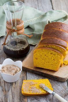 Brioche au potimarron et beurre à la cannelle