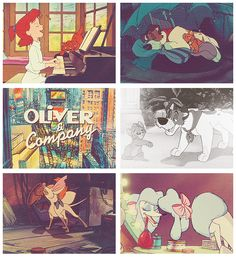 """Oliver and Company! """"Why should I worry?"""""""