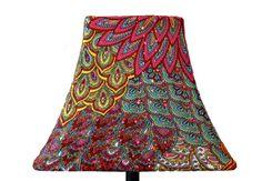 Beautiful lamp shade!