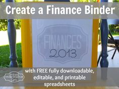 Orchard Girls: Create A Finance Binder + FREE Spreadsheets