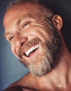 Laugh Lines, Moustaches, Older Men, Handsome Man, Beards, Sexy Men, Hot Guys, Boyfriend, Husband